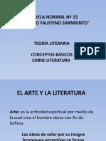 El arte y la Literatura, de Lapesa Melgar, Rafael (1)