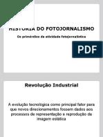 Primórdios do Fotojornalismo