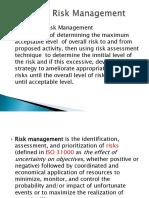 chapter1 Financial Risk management