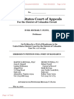 USA v. Michael Flynn - D.C. Circuit - Emergency Petition for Writ of Mandamus