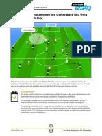 Antonio Conte Tactics Exploiting Space in Behind Juventus Italy