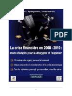 Loic Abadie - La crise financiere en 2008-2010