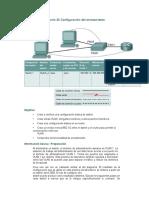 Práctica de laboratorio 20 Configuración del enrutamiento entre las VLAN