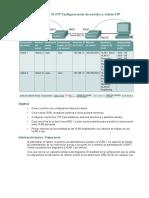 Práctica de laboratorio 19 VTP Configuraciones de servidor y cliente VTP