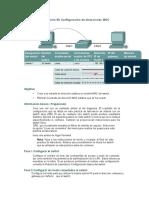 Práctica de laboratorio 9b Configuración de direcciones MAC