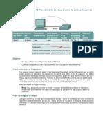 Práctica de laboratorio 12 Procedimiento de recuperación de contraseñas en un switch