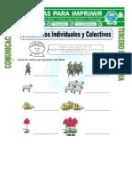 Ficha-Sustantivos-Individuales-y-Colectivos-para-Tercero-de-Primaria