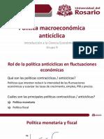 Clase 15. Política contracíclica