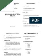 APOSTILA DE GEOGRAFIA BIBLICA