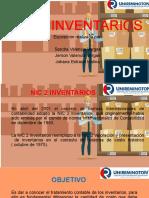 Exposicion de NIC 2 Inventarios