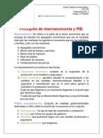 Principios de Macroeconomía y PIB