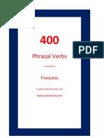 400 Phrasal Verbs. English - Française