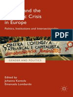 (Gender and Politics) Johanna Kantola, Emanuela Lombardo (eds.) - Gender and the Economic Crisis in Europe_ Politics, Institutions and Intersectionality-Palgrave Macmillan (2017)