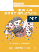 (The Politics of Intersectionality) Sharon Doetsch-Kidder - Social Change and Intersectional Activism_ The Spirit of Social Movement-Palgrave Macmillan (2012)