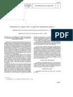 Ordenanza Laboral Siderometalurgica de 1970