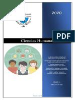 2.Guías de aprendizaje INSTEBA 2020  CIENCIAS HUMANAS 11°