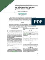 [PDF] Impulso, Momento y Choques Cuerpo Rigido