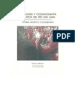 Geología y Oceanografía del Delta del Río San Juan, Litoral Pacífico Colombiano