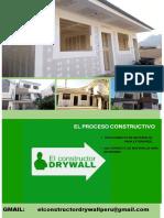 EL PROCESO CONSTRUCTIVO - CONSTRUCTOR DRYWALL 2019