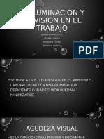 La iluminacion y la vision en el trabajo