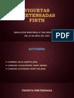 VIGUETAS PRETENSADAS FIRTH