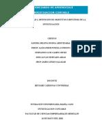 ACTIVDAD UNIDAD 2. Definición de Objetivos e Hipótesis de la Investigación