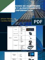 DISPOSITIVOS DE HARDWARE EXTERNOS Y ALMACENAMENTO DE INFORMACIÓN (1)