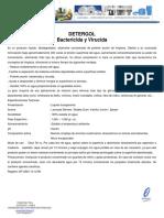 FICHA TECNICA DETERGOL BAÑO  ACTUALIZADA.pdf