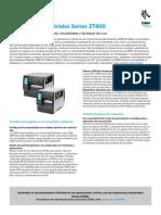 zt400-series-spec-sheet-es-la - Axsa tecnology
