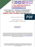 31-10-10 Paper F9 Diagnostic Tests Sample Download v2