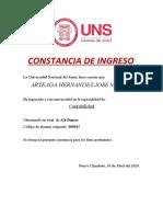 C. correspondencia