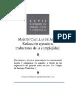 REDACCIÓN EJECUTIVA, TRADUCTORES DE LA COMPLEJIDAD