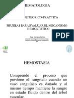 Mecanismo Hemostático