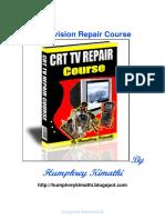 CRT TV Repair Course Humphrey Kimathi