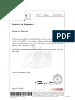 Certificado Dominio con Vigencia Fi-6A Agosto 2018