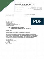 Ruston Gambling Ordinance Repeal Letter