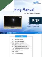 Samsung-Training-Manual-Led-TV-Uexxes7000-Uexxes7500-En
