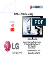 LG 60PK750 Plasma TV Training Manual