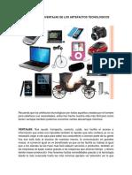 Artefactos Tecnológicos Ventajas y Desventajas.docx