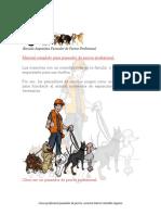 Manual Paseador de Perros