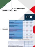 Hitos Clave para la Gestión de Materiales 2018.pptx