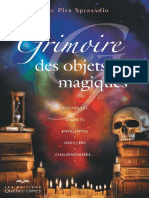 Sperandio Eric-Pier-Grimoire des objets magiques.
