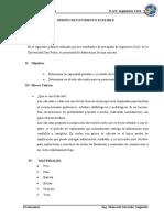 PAVIMENTOS. CALICATAS 1 Y 2