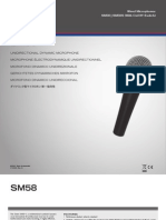 Sm58 User Guide