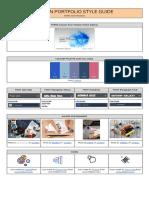 aoi alex  portfolio style guide example
