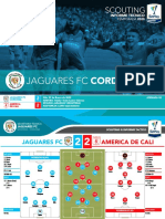 J02 III JAGUARES FC 2-2 AMERICA DE CALI