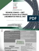 Transportistas turísticos piden apoyo a Conago