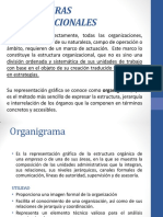 3.  ESTRUCTURAS ORGANIZACIONALES