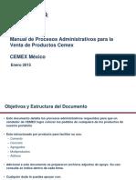 Manual de Capacitacion de Procesos Administrativos-Venta