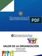 Valor de una organización FINAL